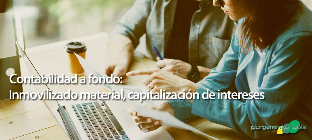 Inmovilizado material. Capitalización de intereses