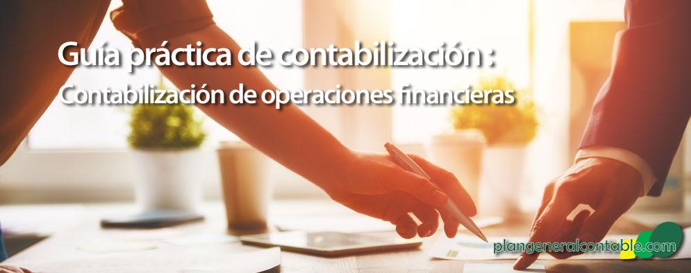 Asientos sobre operaciones financieras