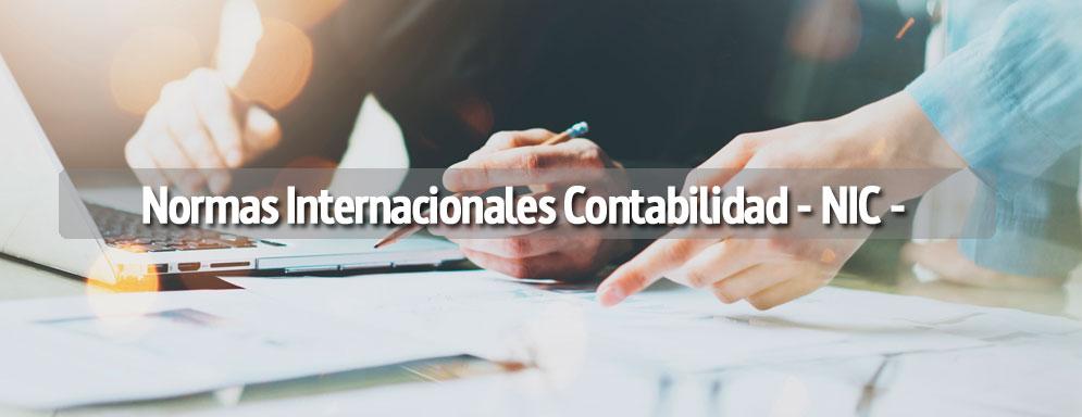 Guía resumen Normas Internacionales Contabilidad -NIC -