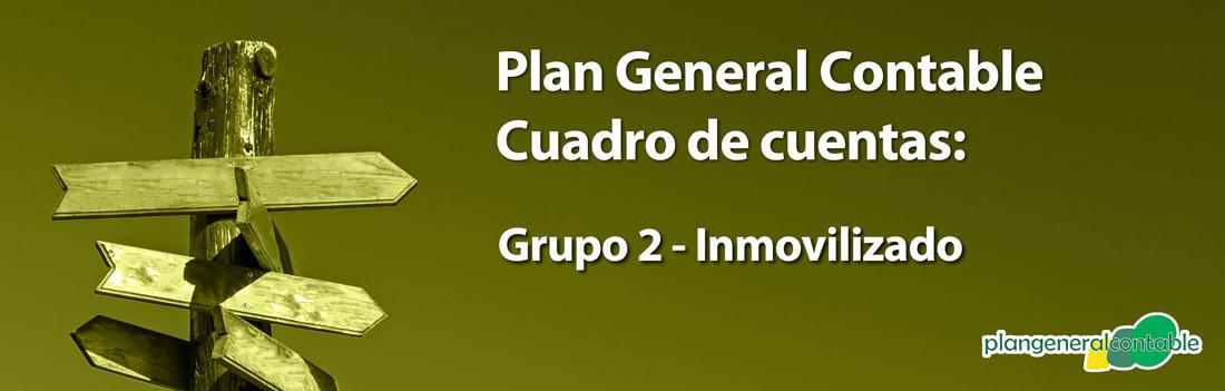 Cuadro de cuentas Plan General Contable: 210. Terrenos y bienes naturales