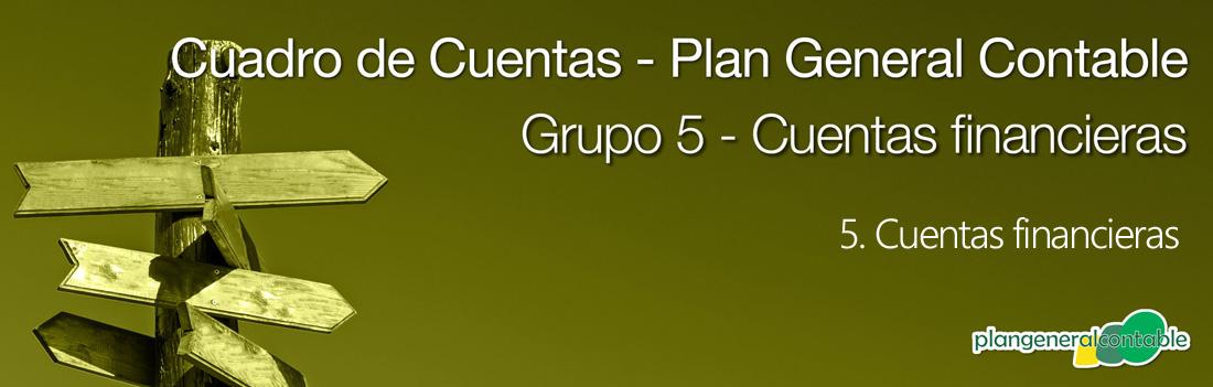 Cuadro de cuentas Plan General Contable: 521. Deudas a corto plazo