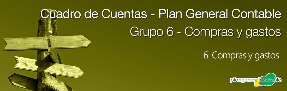Cuadro de cuentas Plan General Contable: 66. Gastos financieros